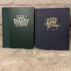 2 VINTAGE RELIGIOUS HARDCOVER BOOKS